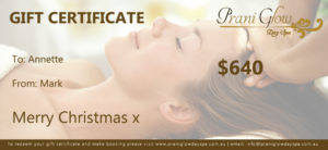day spa gift-certificate-for Christmas