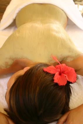 Prani glow day spa french body clay wrap