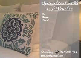 Springs creek gift voucher