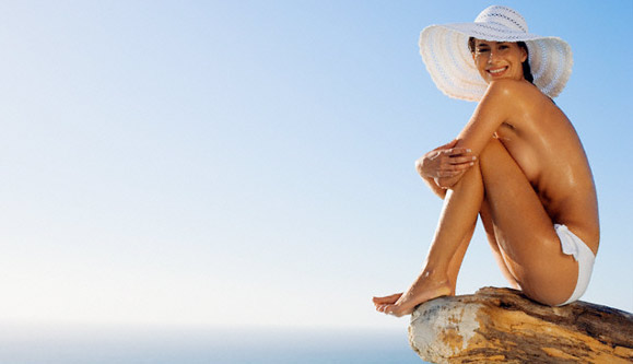 Summer soothing body treatment