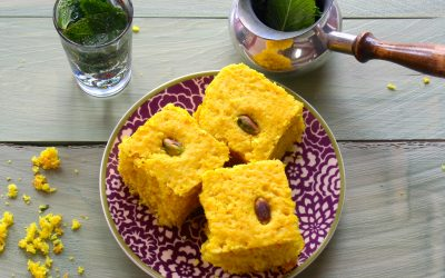 Turmeric and Coconut Cake (Vegan)