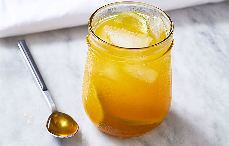 ~Lemon-Ginger-Turmeric Iced Tea~